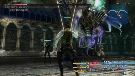 FF XII Ahriman Boss Fight
