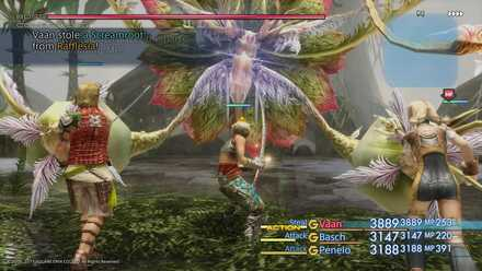 FF XII Rafflesia Boss Fight