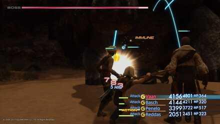 FF12 Pandaemonium boss fight