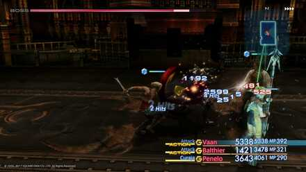 FF12 Judge Gabranth Boss Fight (2nd Battle)