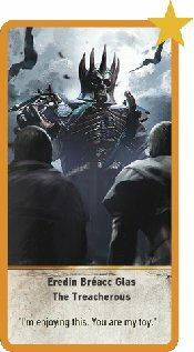 Eredin Breacc Glas The Treacherous Gwent Card And How To Get The Witcher 3 Game8