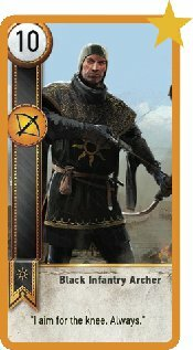 Black Infantry Archer Image