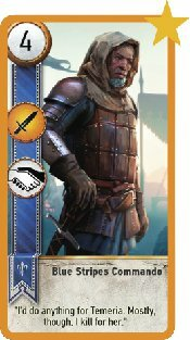 Blue Stripes Commando Image