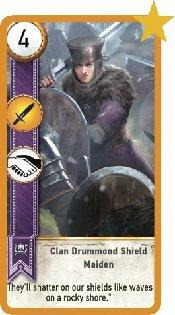 Clan Drummond Shieldmaiden Image