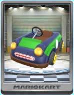Green Kiddie Kart