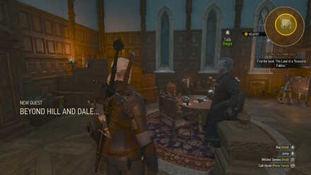 Witcher 3 Quest Beyond Hill and Dale