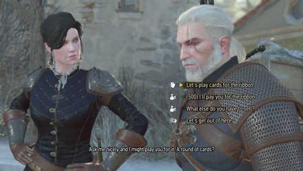 Witcher 3 Optional Syanna