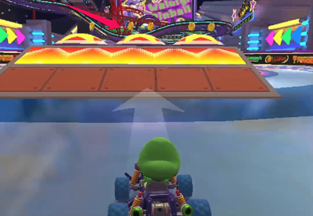 Ramps and Bumpers (Waluigi Pinball R/T).png
