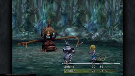 FF9 Prison Cage Vivi Boss Fight