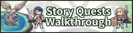 Story Walkthrough