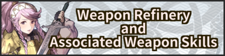 Weapon Refinery and Weapon Skills