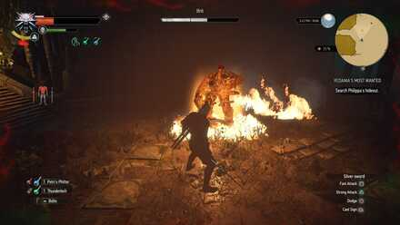 Fighting the Ifrit