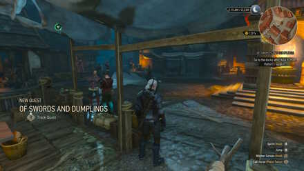 Of Swords And Dumplings Walkthrough The Witcher 3 Game8