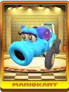 Light-blue Turbo Birdo