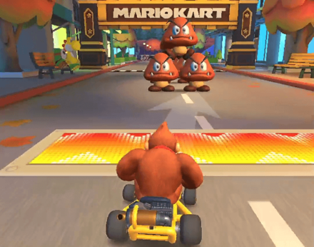 Goombas at the finish line (Gomba Takedown).png