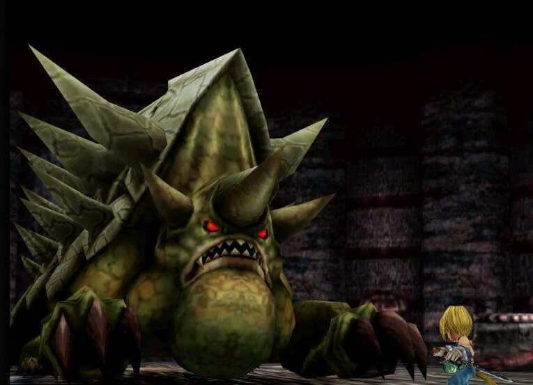 FF9 Shell Dragon