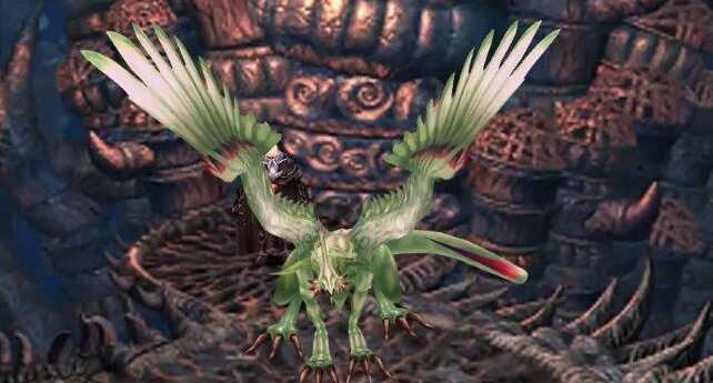 FF9 Silver Dragon