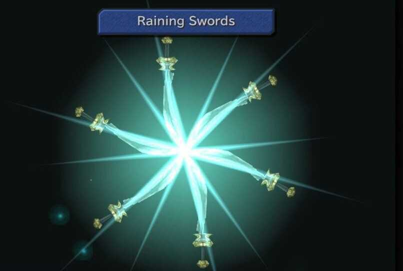 FF9 Raining Swords