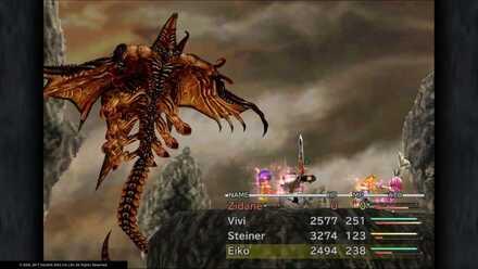 FF9 Deathguise open wings