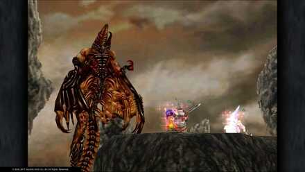 FF9 Deathguise Closed Wings