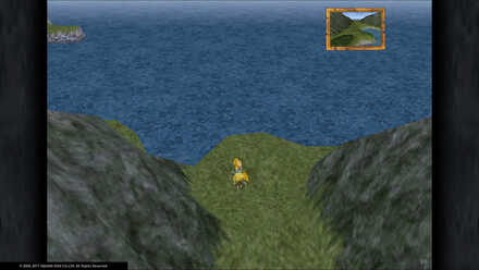 FF9 Between Mountains Location