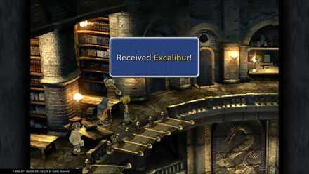 FF9 Excalibur