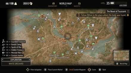 Witcher 3 Exploration