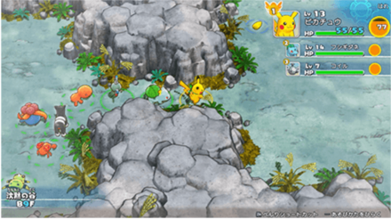 Pokemon Mystery Dungeon: Rescue Team DX Recruitment Size
