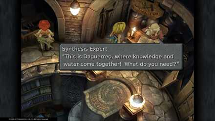 FF9 Synthesis Expert