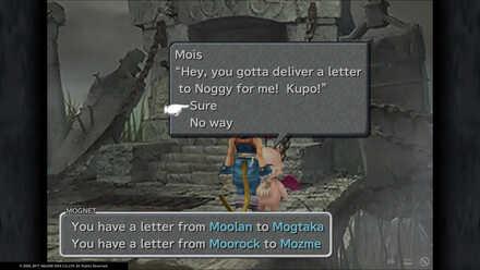 FF9 Mois letter