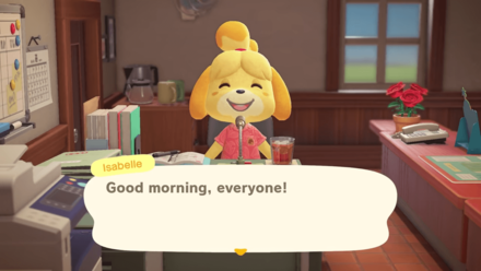 Nintendo Direct - Isabelle Good Morning