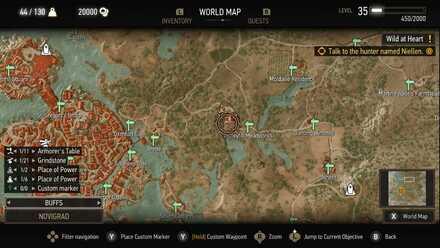 Witcher 3 Places of Power Novigrad