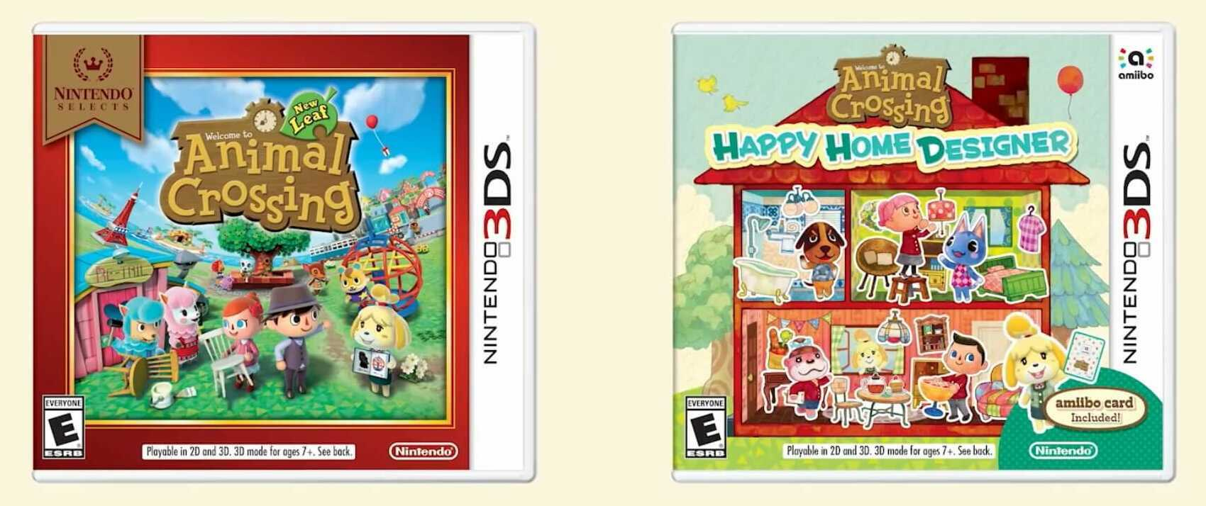 Animal Crossing New Leaf & Happy Home Designer