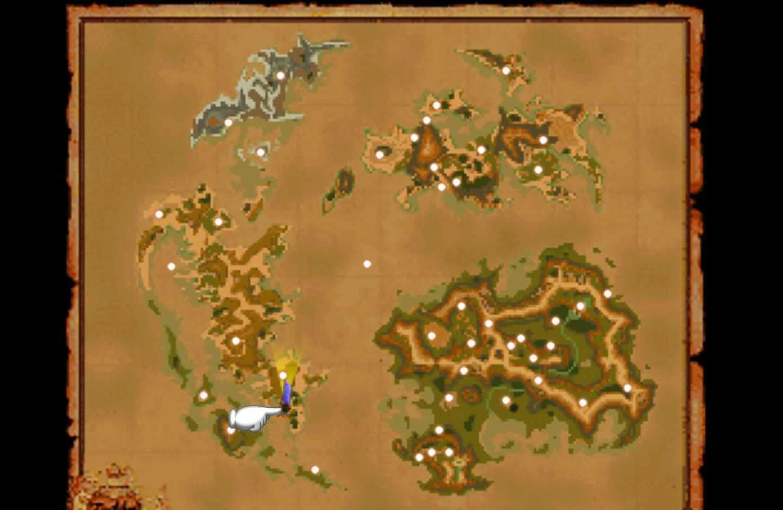 FF9 Divespot 2 map