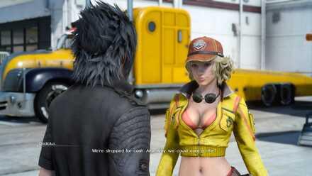 Cindy_Chapter 1_Final Fantasy 15 walkthrough