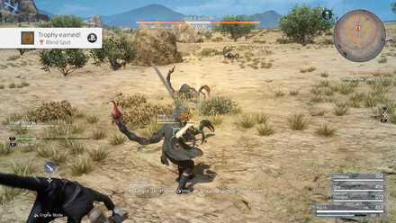 Noctis battles_Chapter 1_Final Fantasy 15 walkthrough