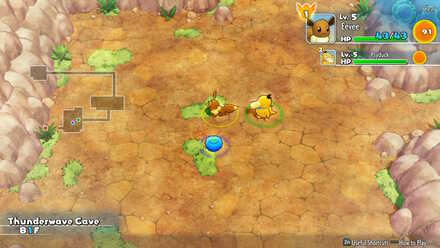 Thunderwave Cave Pokemon Mystery Dungeon: Rescue Team DX