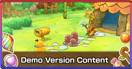Demo Version Content Mystery Dungeon DX