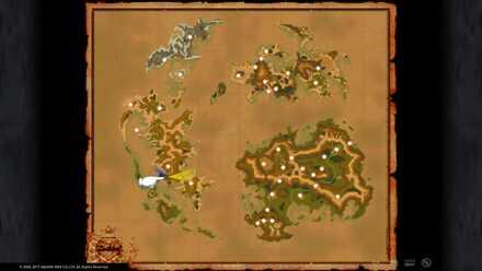 FF9 Dusk Plains Map