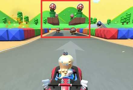 Goombas and Piranha Plant (RMX Mario Circuit 1R).jpg