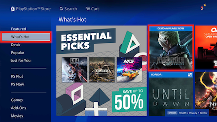 PlayStation Store What
