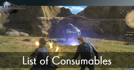 FFXV List of Consumables.png