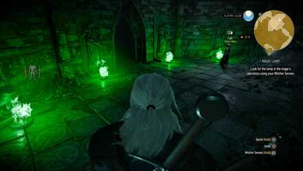 Magic Lamp Walkthrough And Riddle Solution The Witcher 3|game8