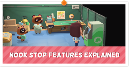 Nook Stop Features Explained