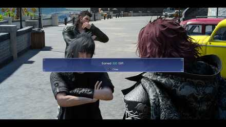 FFXV_Suspicious stranger_story walkthrough