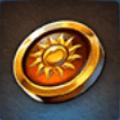 Small Sun Badge