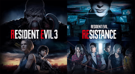 Resident Evil 3 and Resistance - Banner.png