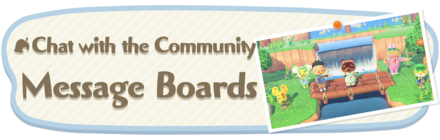 Animal Crossing New Horizons Message Boards