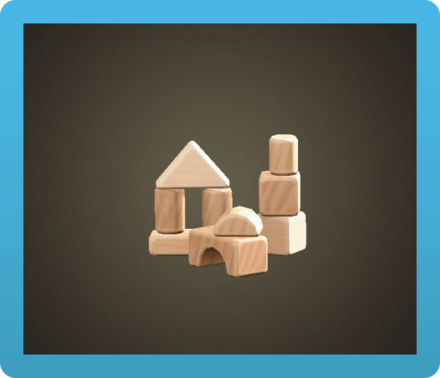Wooden-Block Toy Image