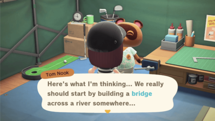 Tasked to build a Bridge